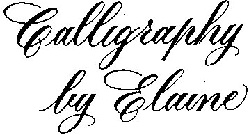 CalligraphybyElaine